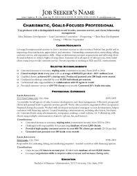 Sales Resume Sample Fascinating Sales Resume Sample Write A Winning Sales Resume In 60 Steps Sales Resum