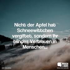Nicht Der Apfel Hat Schneewittchen Vergiftet Sondern Ihr Blindes