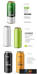 Background color can be changed. 50 Beer Beverage Can Mockup Style Design Candacefaber