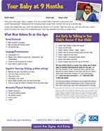 Cdc Developmental Milestones Chart Child Growth Learning Resource Actual Cdc Child Development
