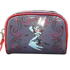 image is loading fluff glire makeup bag rockabilly retro gothic punk