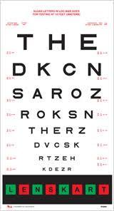 Lenskart Toric Chart Eye Checkup Procedure Using Eye Chart