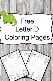 Small Picture Letter D Coloring Pages