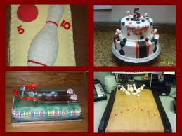 Bowling Pin Cake Decorations Bowling Cakes httpwwwcakedecoratingcorner 17