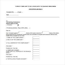 Maybe you would like to learn more about one of these? Free 6 Banking Ombudsman Complaint Forms In Pdf