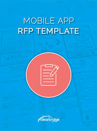 Mobile App Rfp Template - Download