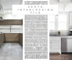 Installing Glass Mosaic Tile Backsplash Simple Akoya Interlocking Crystallized Glass Tiles From MSI Are Ideal To