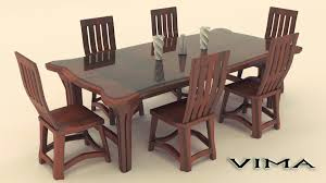 farm table dining room unique wooden round dining table inspiration decosee hardwood and chairs