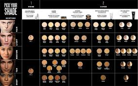 Article Dermablend Pick Your Shade Chart Hair Makeup