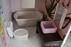 homemade dollhouse furniture. diy dollhouse bathroom furniture part 6 of homemade