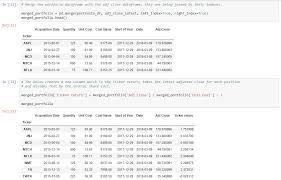 Google Finance My Portfolio Chart Python For Finance Stock Portfolio Analyses Towards Data