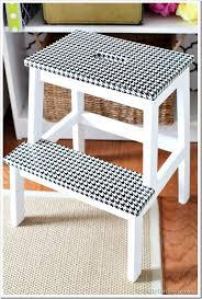duct tape furniture. Duct-Tape-Stool-Houndstooth Duct Tape Furniture
