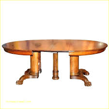 home antique pedestal dining table solid oak round