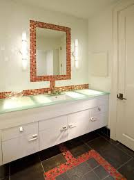 Glass Tile Bathroom Designs Interesting Decorating Ideas