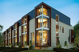 Linea On Bayview Modern Townhomes By Stephen Teeple Architect