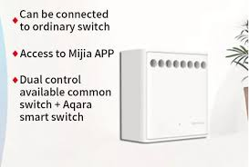 XIAOMI <b>Aqara Two</b>-<b>way</b> Control <b>Module</b> Wireless Relay Controller ...