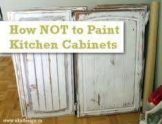 Small Picture How to paint your cabinets professionally using SPRAY PAINT