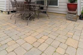 how to install a paver patio inch