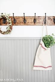 Strong Coat Rack Best DIY Rustic Towel Rack Maison De Pax