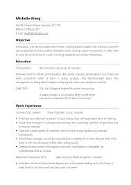 resume examples for objectives regarding objective part time job - Part  Time Job Resume Objective