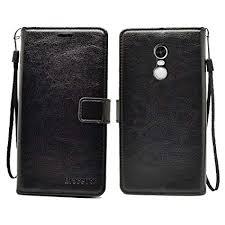 bracevor xiaomi redmi note 4 flip cover leather case inner tpu premium leather wallet
