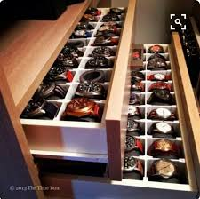 17 best ideas about watch organizer watch storage mens watch organization i would would love to have a place like this for him in our closet kb