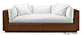 modern wood sofa furniture. the leather and wood sofa from | courtney out loud modern furniture
