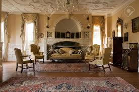 Period Living Room Classic Living Room In A Period Mansion Stock Photo Picture And