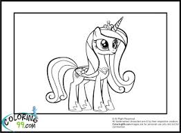 Small Picture Princess Cadence Coloring Pages Cool Stuff Pinterest