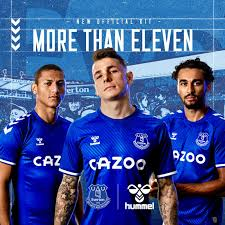 Through the official channels of the club (let's watch the video about the 'go on' campaign, it's nice!) and the technical sponsor of the toffees, umbro, the home. Fans Impressed As Everton Unveil New 20 21 Home Kit Fan Banter