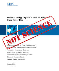 Consulting Report NERA Economic Consulting Report On Clean Power Plan Union Of 20