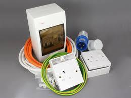 240v mains hook up installation kit 12 volt planet campervan 240v wiring diagram at Campervan 240v Wiring Diagram