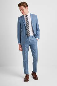 Grey Light Blue Suit Dkny Slim Fit Light Blue Texture Suit