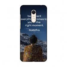 Amzer Designer Case Amzer Designer Case Buddha Quotes 6 For Xiaomi Redmi Note 5