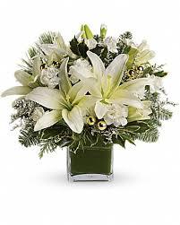 teleflora s diamonds icicles bouquet flower arrangement