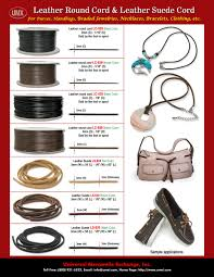 leather cord supplies round leather cords and leather suede for purse crafts and handbag craft