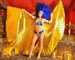 She brings value and respect to the roles of wife and mother. Egyptian Goddess Isis Las Vegas Showgirl Dancer Gold Fabric Wings Costume New 89 95 Picclick