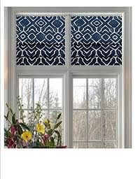 faux roman valance. Perfect Valance CustomMade Faux Roman Valance In Navy U0026 Natural Or Grey Trellis  Print Intended