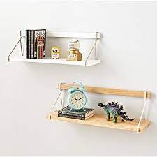 suspension wall shelf crate kids