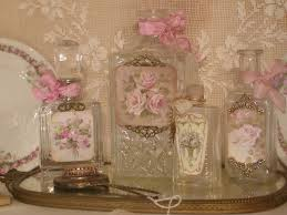 How To Decorate Perfume Bottles Chateau De Fleurs French Style Perfume Bottles 22