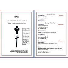 funeral mass program funeral mass program rome fontanacountryinn com