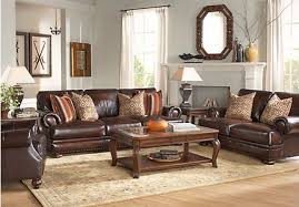 traditional leather living room furniture. Interesting Leather Kentfield Brown 2 Pc Leather Living Room To Traditional Furniture
