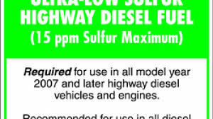 low sulfur deisel its here ultra low sulfur diesel officially arrives today autoblog