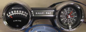 tachometer repair restoration for 1965 1966 mustang classic cars 1965 mustang rally pac tachometer and clock restored tachometers updated to 3 wire no decals or stickers