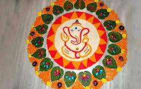 ganesha rangoli design ganpati rangoli designs for diwali ganesha rangoli for diwali