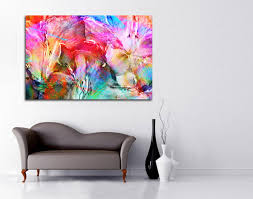 modern abstract contemporary art interior decor color