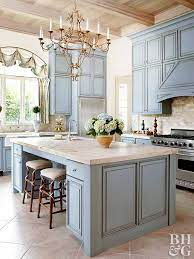 Blue Kitchen Cabinets Better Homes Gardens