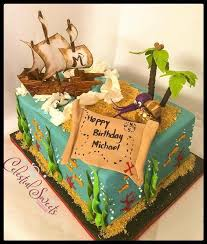 My Sons Pirate Themed Cake For His 6th Birthday Yelp