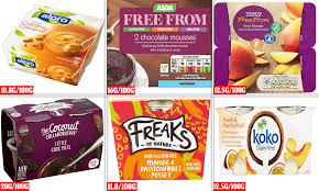 Danone Light And Free Asda Trendy Vegan Yoghurts And Desserts Can Contain More Sugar