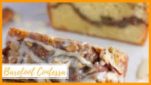 Sour cream coffee cake with streusel topping is the perfectly light and tender accompaniment to a strong cup of coffee. Barefoot Contessa Sour Cream Coffee Cake Ina Garten Youtube
